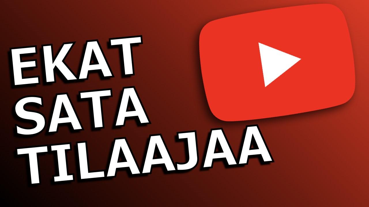 Miten saada ensimmäiset sata tilaajaa YouTubessa [VIISI VINKKIÄ]