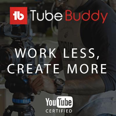 Lataa ilmainen YouTube työkalu TubeBuddy
